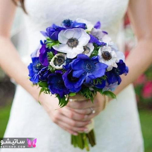 دسته گل عروس شیک و خوشگل