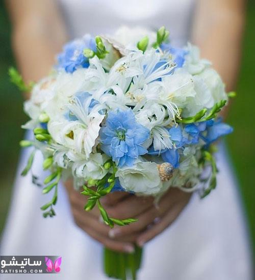 مدل دسته گل عروس طبیعی مناسب عقد