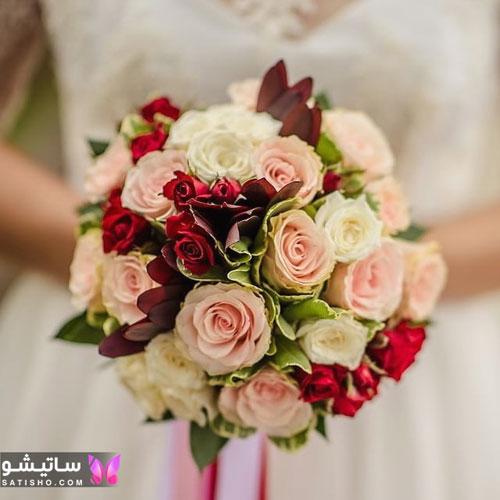 تصاویر دسته گل عروس باکلاس
