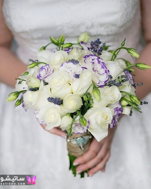 مدل دسته گل خاص عروس