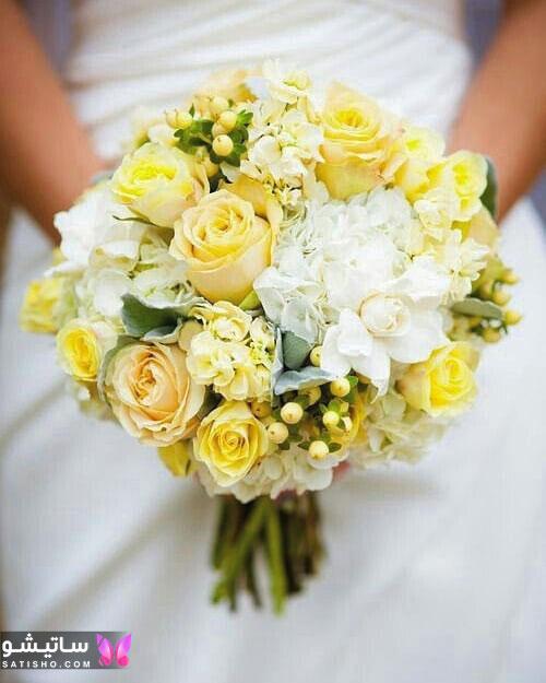 مدل دسته گل ترکیبی عروس