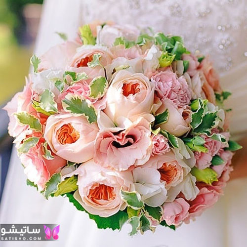 مدل دسته گل مدرن عروس لاکچری