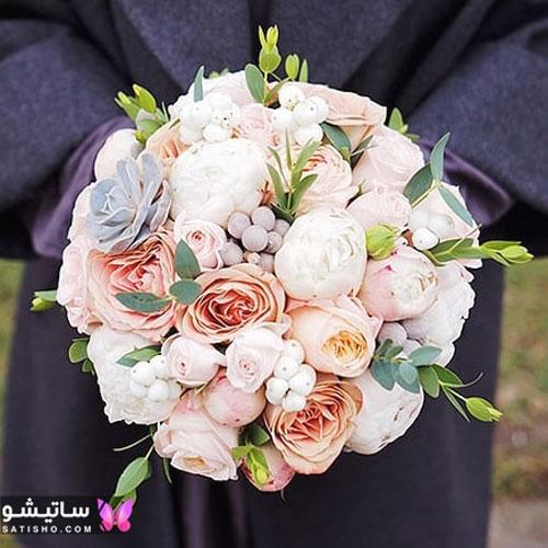 شیک ترین دسته گل عروسی مدل اروپایی