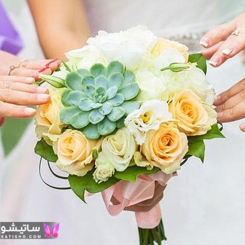 مدل دسته گل عروس 2019