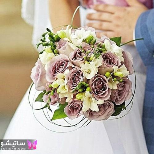 جدیدترین عکس دسته گل عروس لاکچری