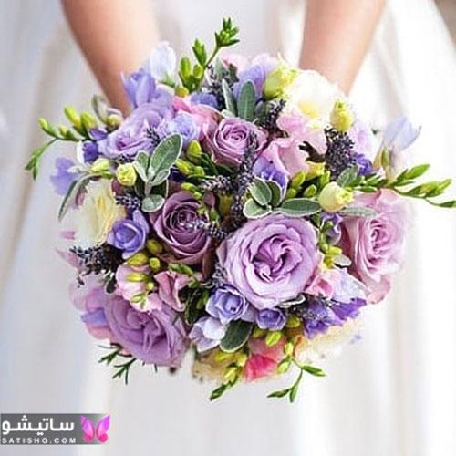 مدل دسته گل عروسی اروپایی