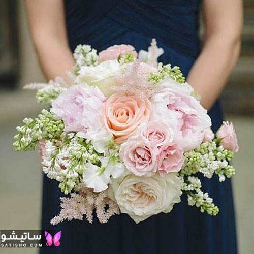 شیک ترین دسته گل اروپایی برای عروسی