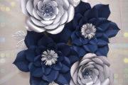 تم تولد با گلهای دکوراتیو