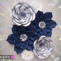 ۵۵ مدل تم تولد با گلهای دکوراتیو