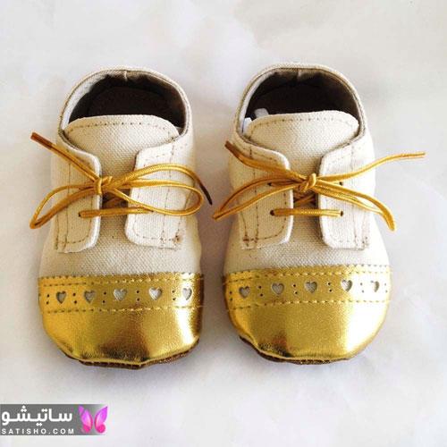 خرید جدیدترین مدل لباس بچه گانه پسرانه طلایی رنگ زیبا