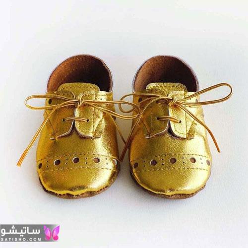 انواع مدل کفش بچه گانه