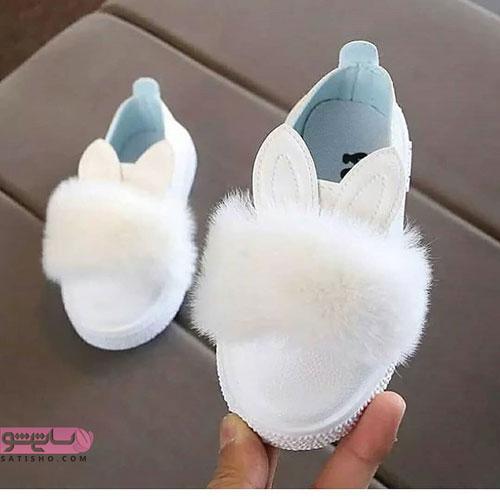 انواع مدلهای کفش بچه گانه