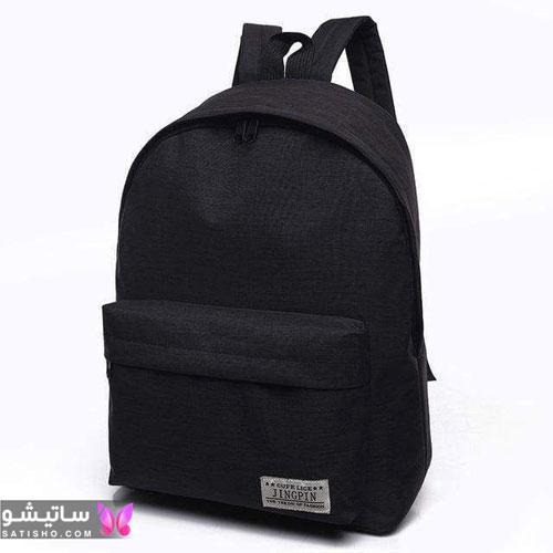 کیف مدرسه ساده و شیک دخترانه