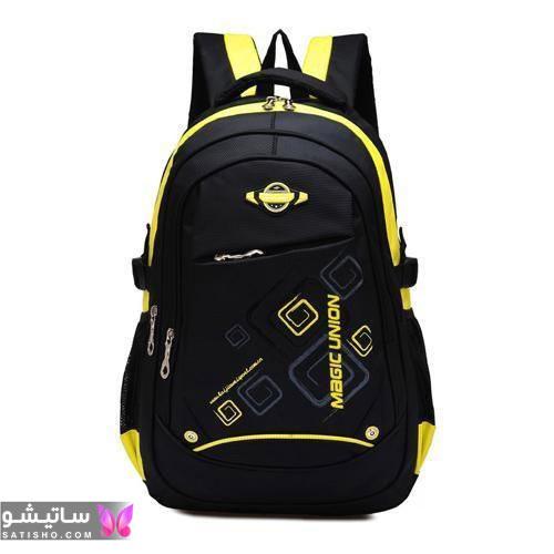 کیف مدرسه پسرانه طرح دار جدید