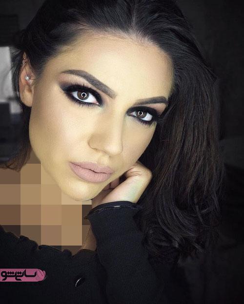 مدل آرایش مدیوم عروس برای نامزدی
