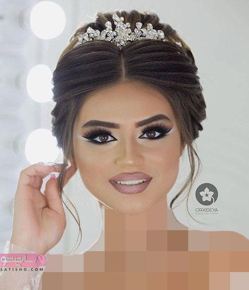 جذاب ترین مدل های میکاپ و آرایش صورت عروس ایرانی
