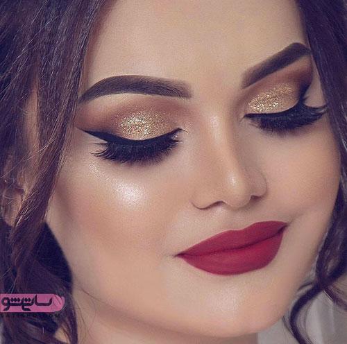 مدل میکاپ شاین عروس ایرانی