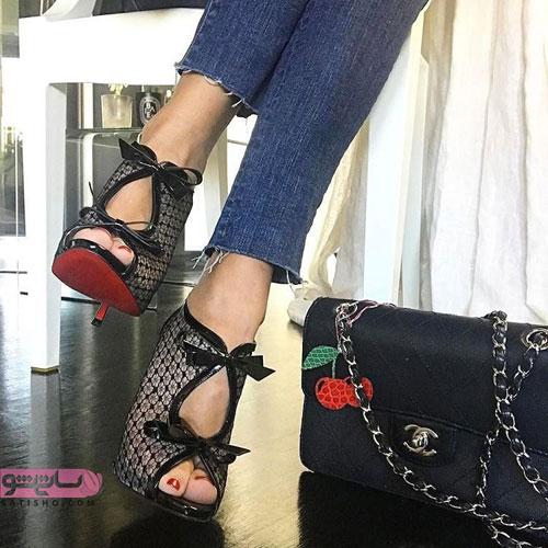 مدلهای شیک کفش پاشنه بلند دخترانه مد سال 98