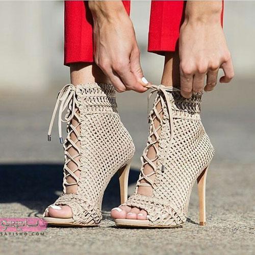عکس کفش بسیار زیبا و لاکچری دخترونه