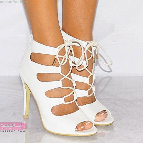 مدل کفش سفید دخترانه 98