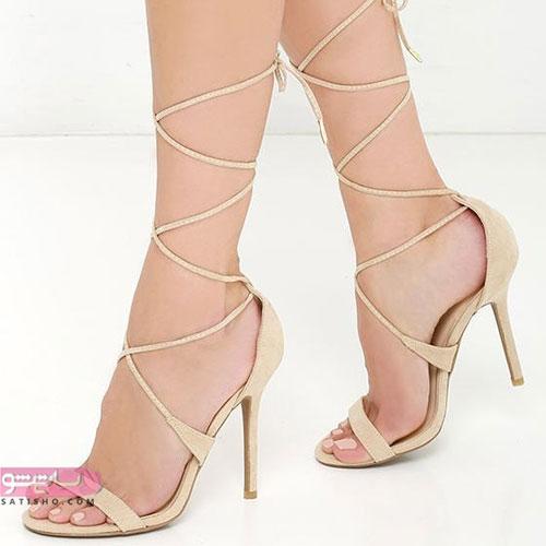 عکس مدل جدید کفش زنانه پاشنه بلند