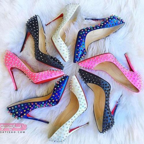 عکس کفش پاشنه بلند دخترانه