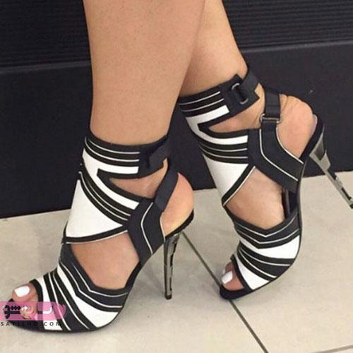 انواع کفش پاشنه بلند دخترانه شیک