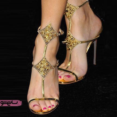 جدیدترین کفش های مجلسی عروس