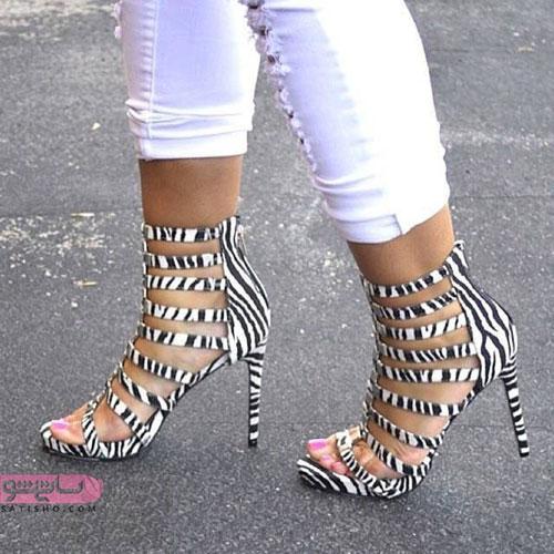 مدل کفش پاشنه بلند دخترانه شیک اینستا