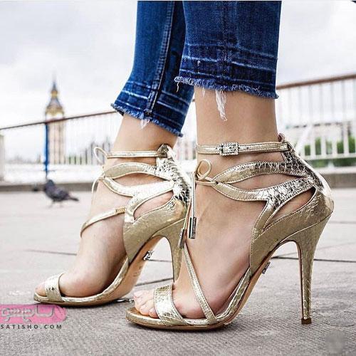 مدلهای کفش مجلسی زنانه پاشنه بلند