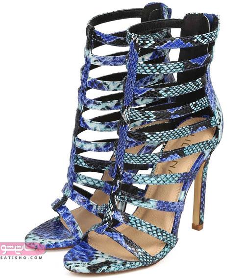 مدل کفش مجلسی دخترانه پوست ماری