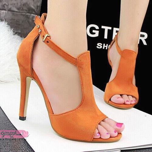 کفش زنانه مجلسی چرم اصل