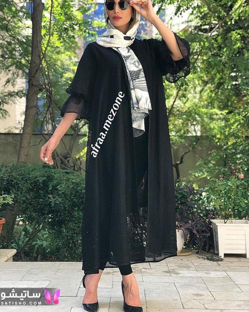 عکس مانتو شیک دخترانه و زنانه عید سال ۹۹