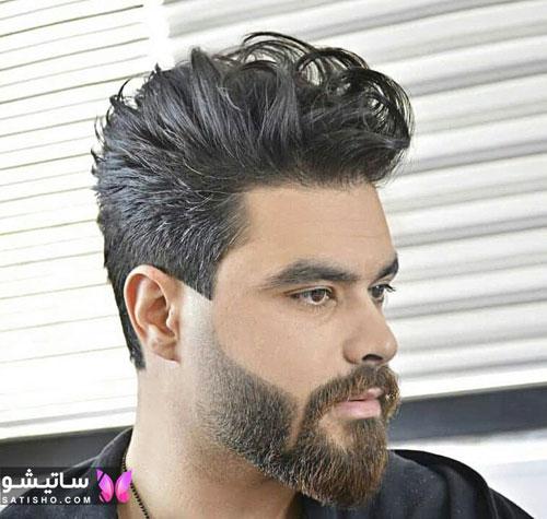 مدل مو مردانه خامه ای زیبا
