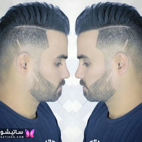نمونه مدل موی مردانه باکلاس