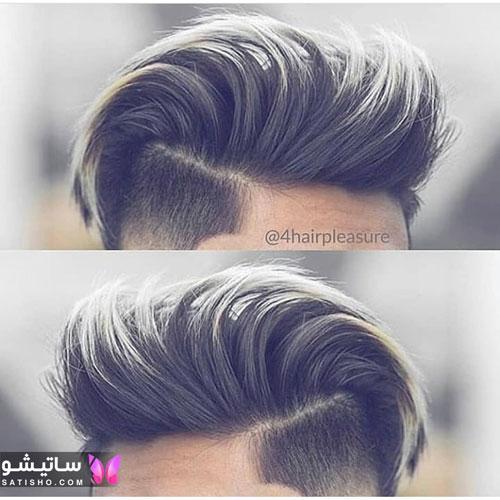 مدل مو خامه ای پسرانه و مردانه