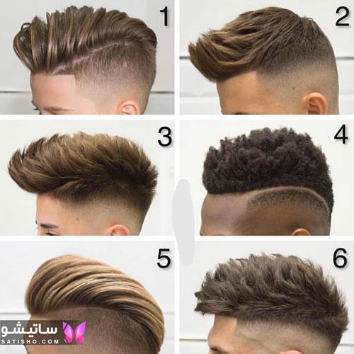 مدل موهای جذاب پسرانه و مردانه برای کوتاهی