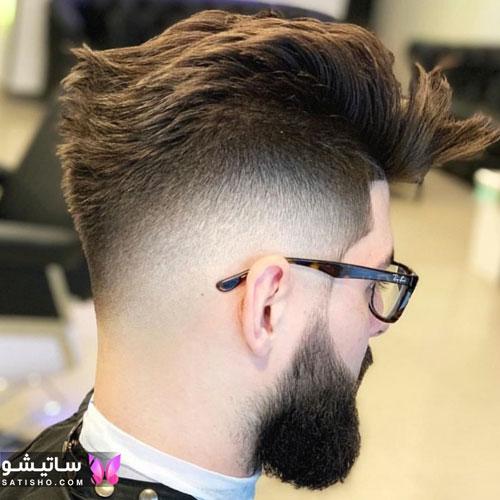 نمونه مدل مو مردانه کلاسیک خارجی