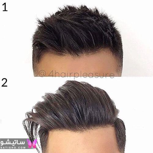 مدل مو مردانه برای صورت های کشیده