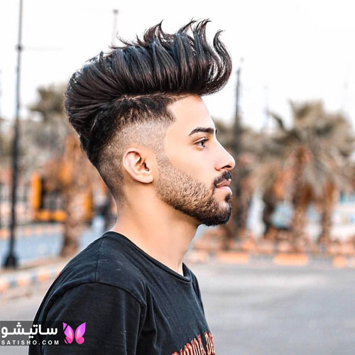 مدل موی مردانه ایتالیایی طرح خامه ای