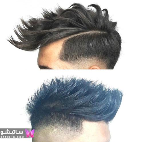 مدل مو شلخته مردانه
