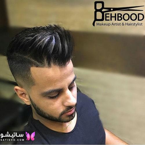 مدل مو خامه ای کوتاه مردانه 98