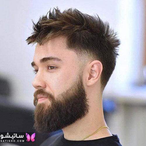 مدل مو شلخته و بهم ریخته مردانه