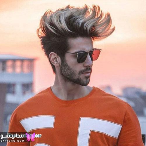 مدل مو فشن بلند مردانه