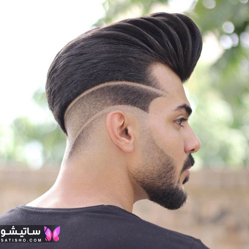 مدل مو خامه ای پسرانه
