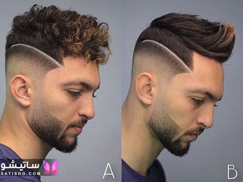 عکس مدل کوتاهی موی فر مردانه
