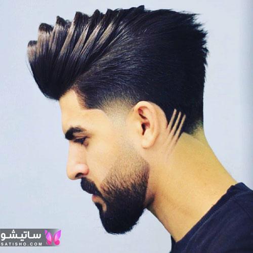 مدل موی خامه ای مردانه جدید
