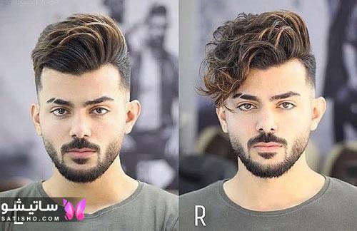 انواع مدل مو ساده مردانه 98