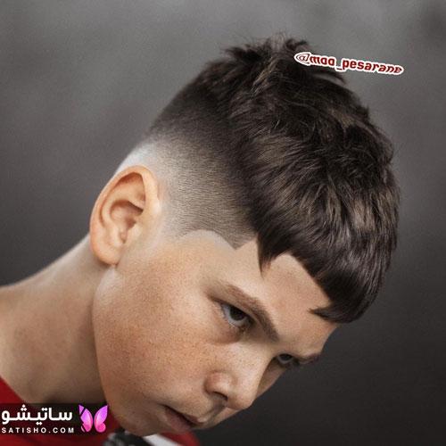 مدل موی پسرانه ساده