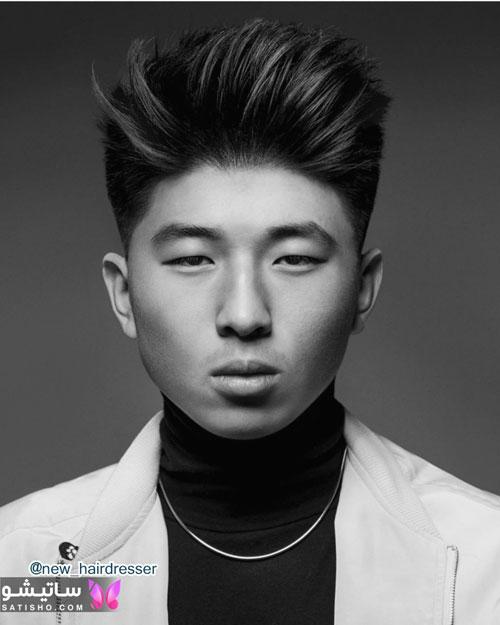 مدل مو کره ای پسرانه